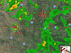 INTERACTIVE map with live storm chase video