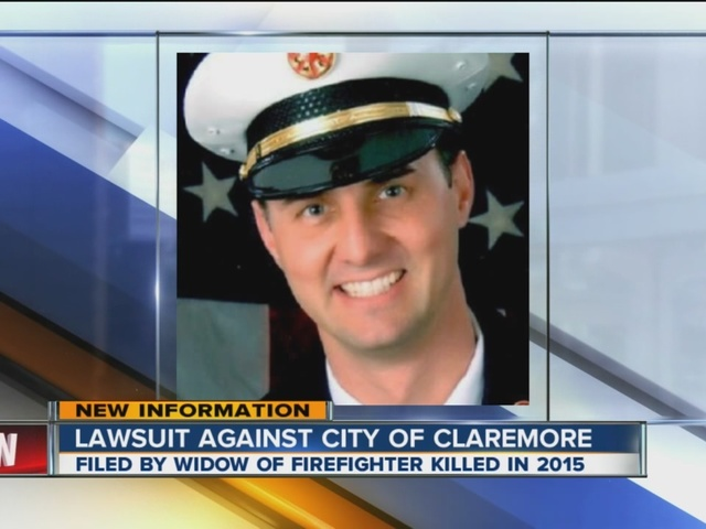 Shelli Farley Widow Of Claremore Firefighter Jason Farley Sues Claremore In Wrongful Death