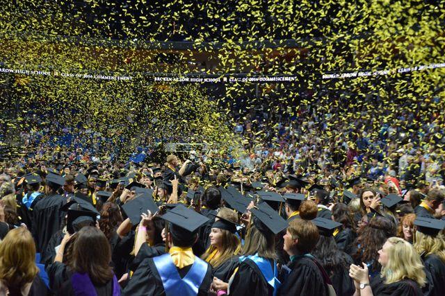 2015 Broken Arrow High School Graduation Commencement Ceremony Kjrh Com