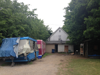 House attracts squatters; neighbors concerned