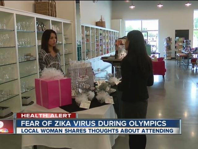 Tulsa woman attending Olympics shares thoughts on Zika virus