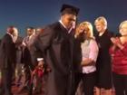 Wheelchair-bound teen walks at Okla. graduation