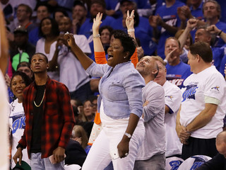 PHOTOS: Thunder, Warriors playoff series