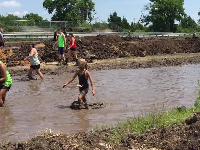 Raw video from the mud pit at the Mud Factor 5K