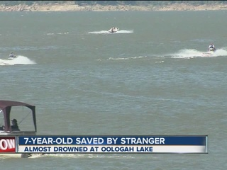 7-year-old saved from drowning by bystander