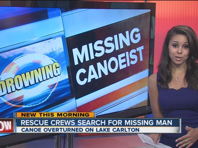 Crews continue search for missing man on Lake Carlton