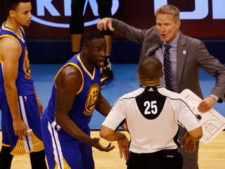 Draymond Green not suspended for groin kick