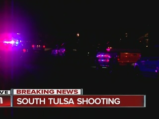 Police respond to south Tulsa shooting
