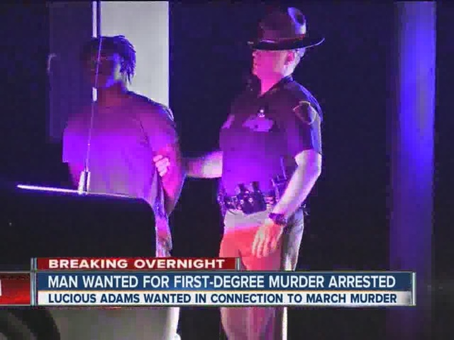 Traffic stop leads to arrest of murder suspect