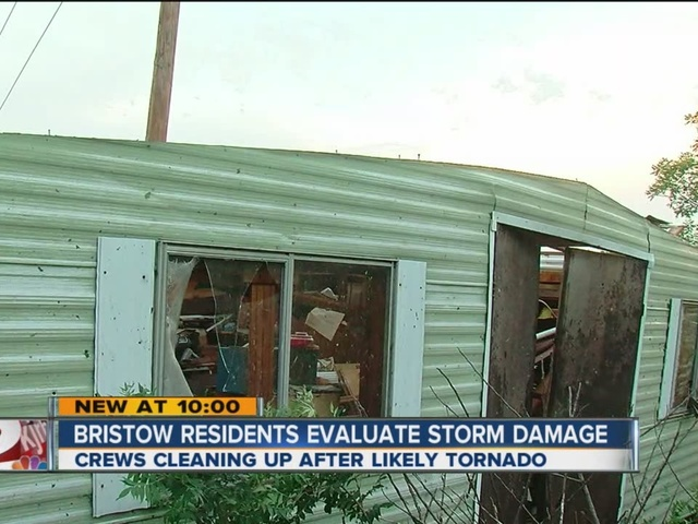 The VoiceBristow Residents Evaluate Storm Damage