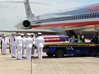 Navy seaman killed at Pearl Harbor taken home