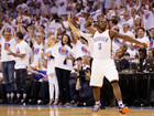 PHOTOS: Thunder vs Warriors in WCF
