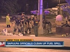 Fuel spill causing concern in Sapulpa