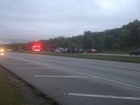 2 car wreck; minor backup on HWY 75 near 61st