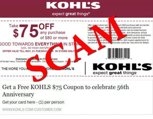 ALERT: Fake Kohl's coupon shared to customers