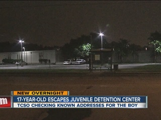 17-year-old juvenile escapee found