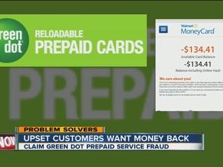 Glitch in prepaid card service; upset customers