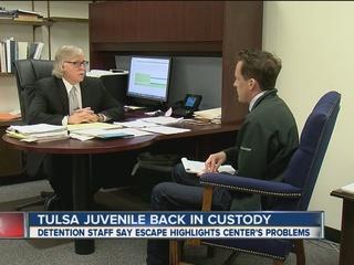 Detention staff blames building's age for escape