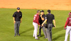 Rough Riders manager throws fit at Drillers game