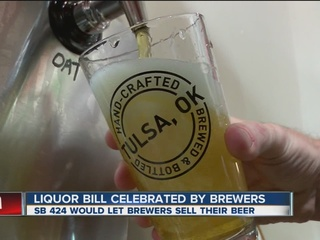Brewers approve of beer bills heading to Fallin