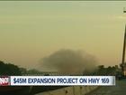 Crews demolish Bird Creek Bridge near Owasso