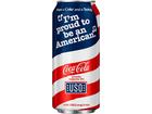 Coca-Cola reveals new patriotic can design