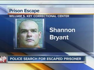 Inmate escapes Oklahoma minimum security prison