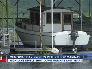 Marina business returns to Lake Fort Gibson