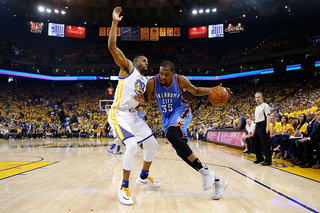 Thunder end season with 96-88 loss to Warriors