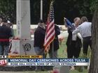 Tulsans hold ceremony at Rose Hill Memorial Park