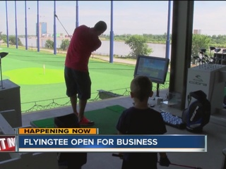 Flying Tee hosts grand opening in Jenks