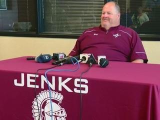 Jenks head football coach 'withdraws retirement'