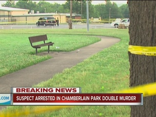 Man charged in Chamberlain Park deaths