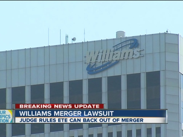 Judge Rules That ETE Can Back Out Of Williams Merger