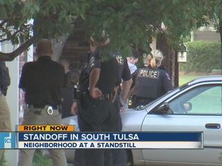 South Tulsa standoff leads to burglary arrest