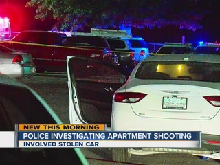 Woman run over, man shot at east Tulsa apartment