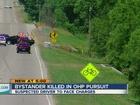 Woman hit, killed during stolen vehicle pursuit