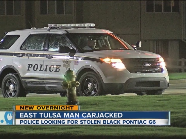 Police are looking for two suspects for stealing a man's car