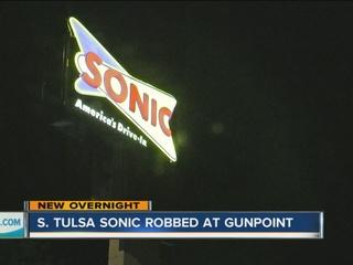 PD: Tulsa Sonic robbed at gunpoint