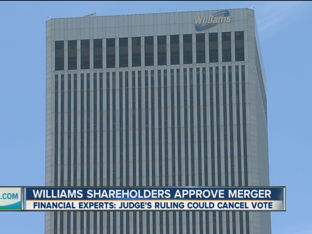 Williams Merger Approved By Shareholders
