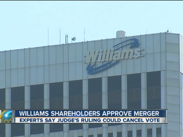 Williams Shareholders Approve Merger