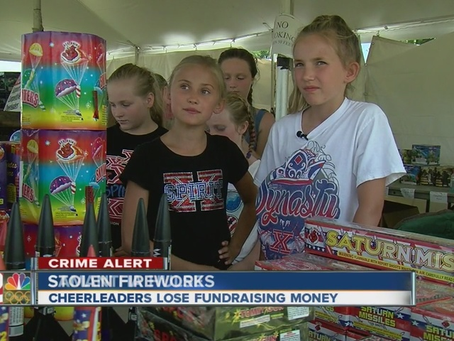 $2,000 worth of fireworks stolen from Oklahoma cheer team