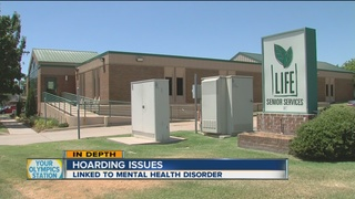 Hoarding disorders linked to mental health...