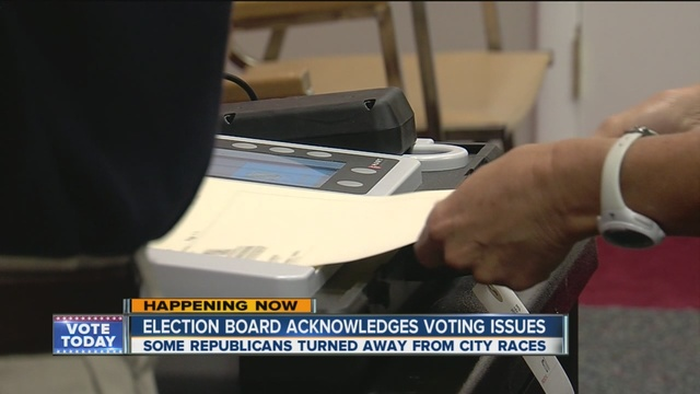 Certain precincts reportedly turned away voters by mistake ...