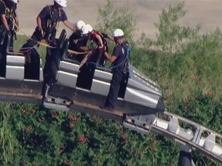 Riders stranded on Frontier City ride in OKC