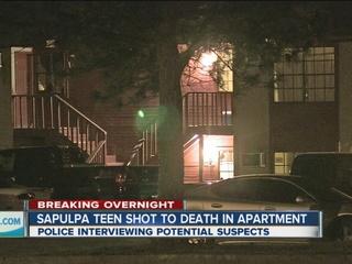Man arrested in death of teen w/ gunshot wound