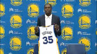 Kevin Durant introduced as Golden State Warrior
