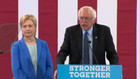 Clinton, Sanders hold rally in NH