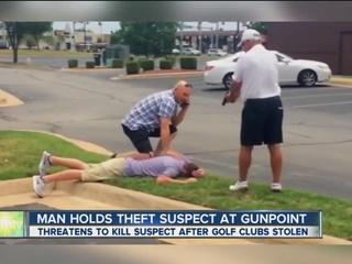 Accused thief files complaint against accuser