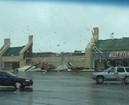 Strong winds strike Muskogee mall